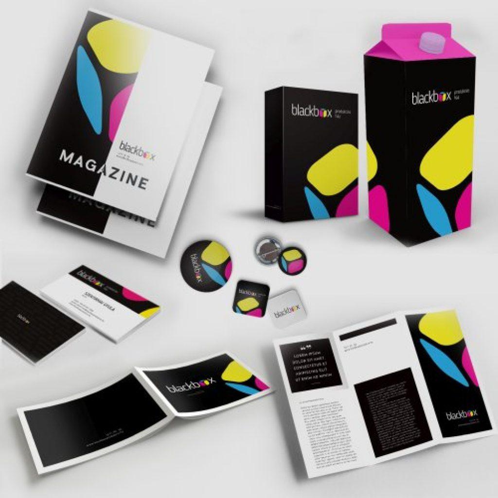 Blackbox: Reklámeszközök, promóciós anyagok, marketingkommunikációs eszközök, nyomdai termékek és megoldások